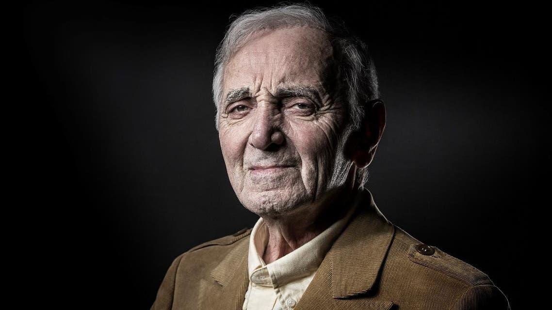 Charles Aznavour. (AFP)