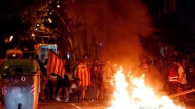 صدامات في برشلونة خلال تظاهرة لدعاة استقلال كاتالونيا