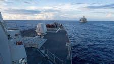چین کے سمندر میں امریکی عسکری جہاز رانی پر بیجنگ چراغ پا