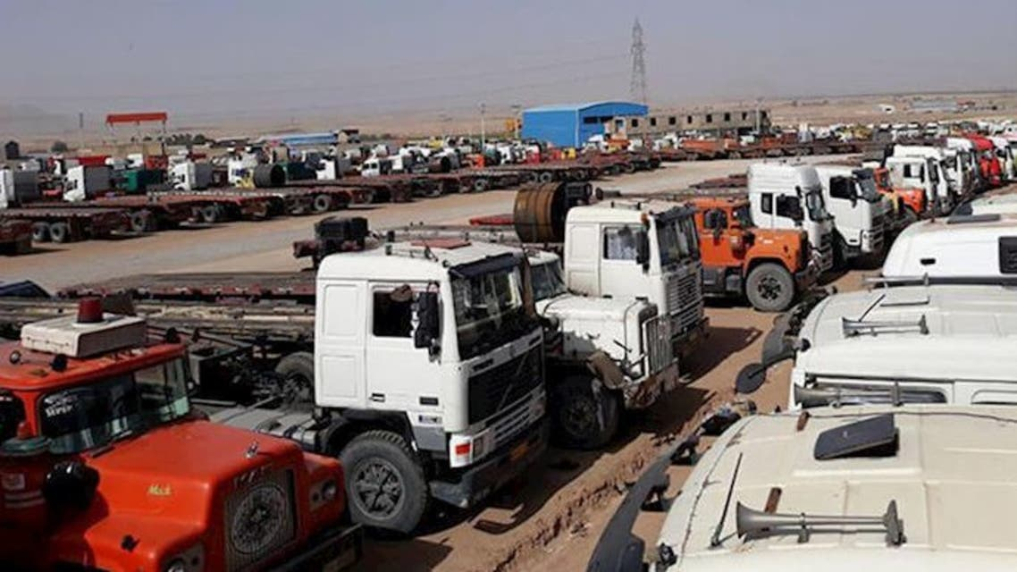 إضراب الشاحنات