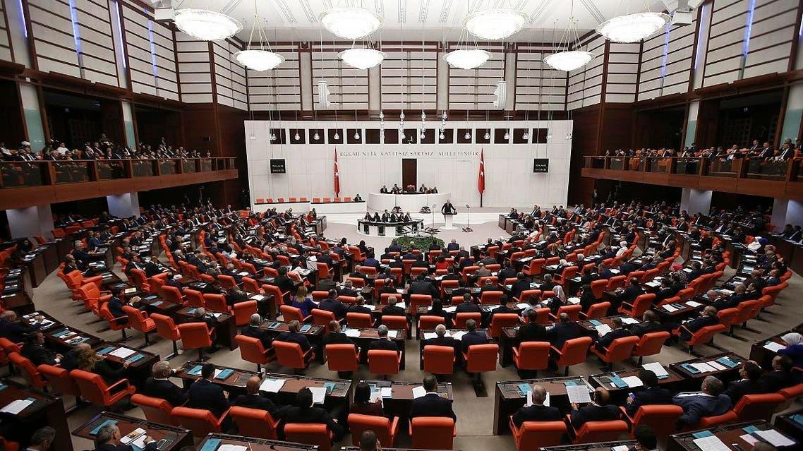 Turkey Parliament (AP)