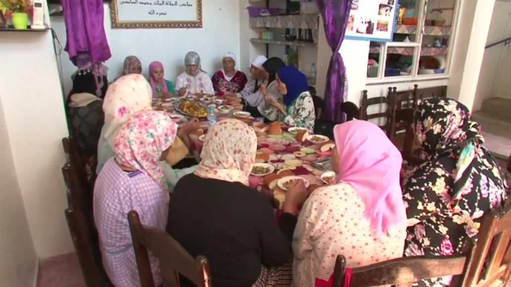 Moroccan woman shelters cancer patients. (Reuters)