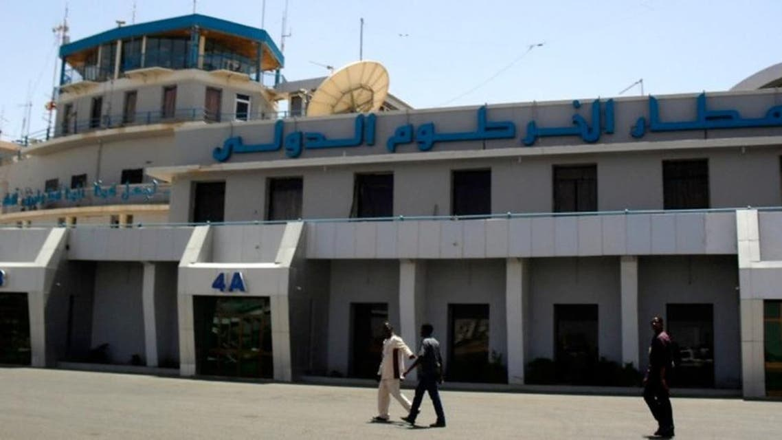 Khartoum airport was shut down on Wednesday after two military planes were involved in a runway collision