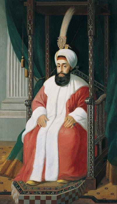صورة للسلطان العثماني سليم الثالث