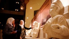 Syria's recovered antiquities go on display at Damascus Opera