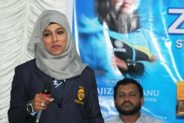 """""""I believe that if a woman is free to show her body, she should be free to cover it as well"""", Majiziya says. (Supplied)"""
