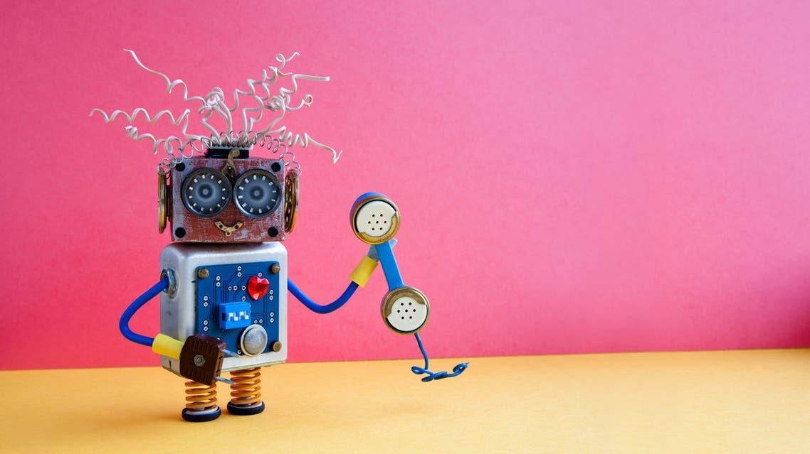 iStock robot comedy روبوت كوميديا
