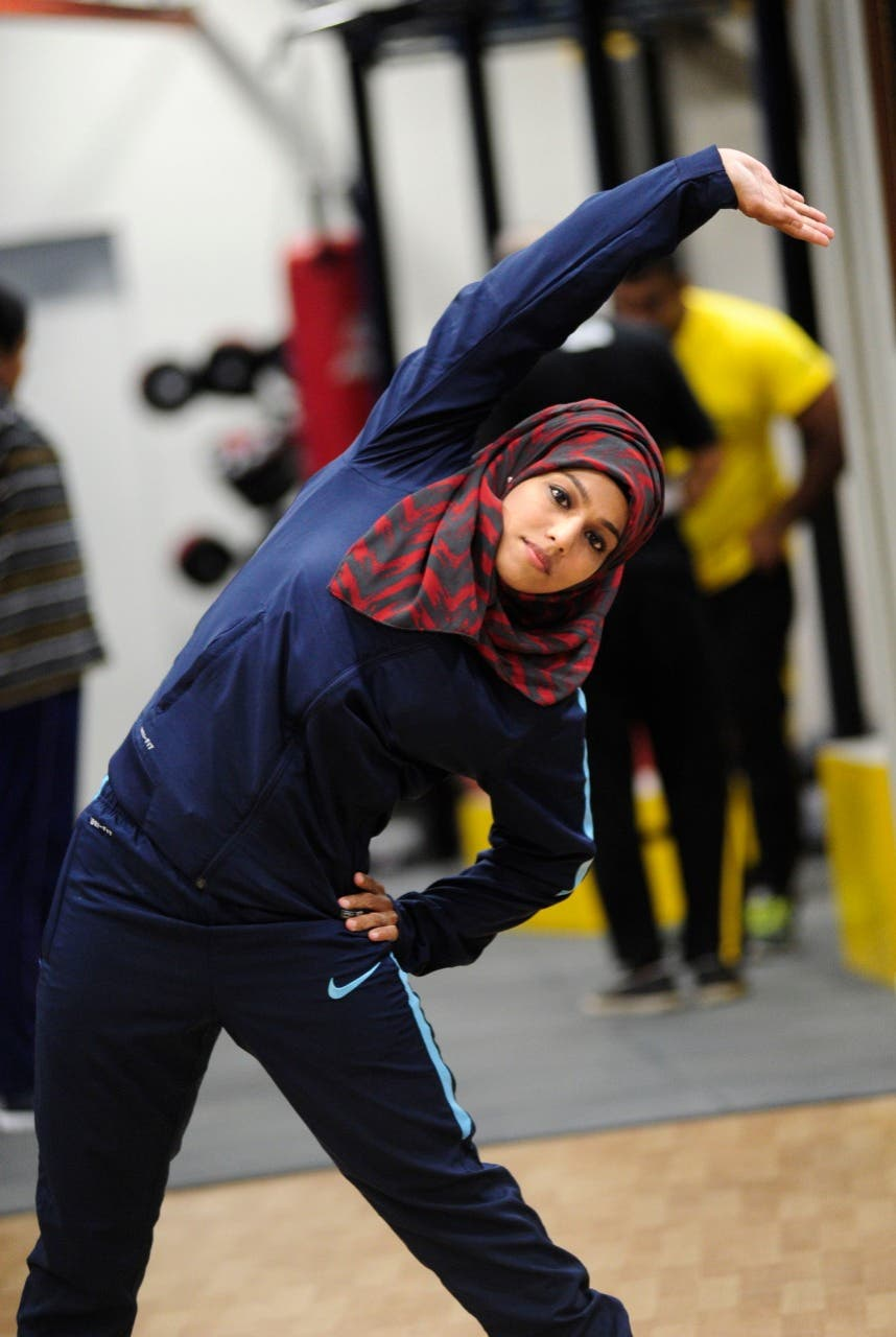 The hijab-clad sportswoman has hogged the limelight and is an inspiration to many youngsters throughout India. (Supplied)