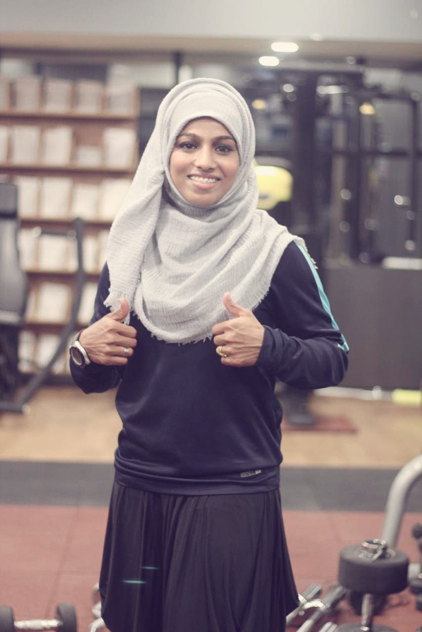 In powerlifting, she participates in below 52kg weight category. (Supplied)