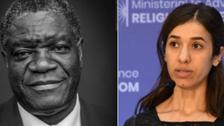 فوز العراقية نادية مراد والكونغولي موكويجي بنوبل للسلام