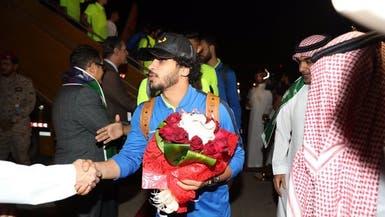 بالصور.. استقبال حافل لبعثة الزمالك في الرياض