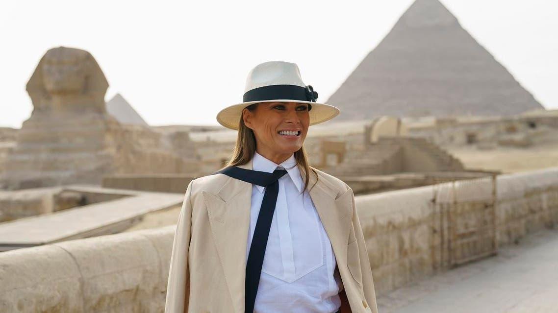 Melania Pyramids 1 (AP)