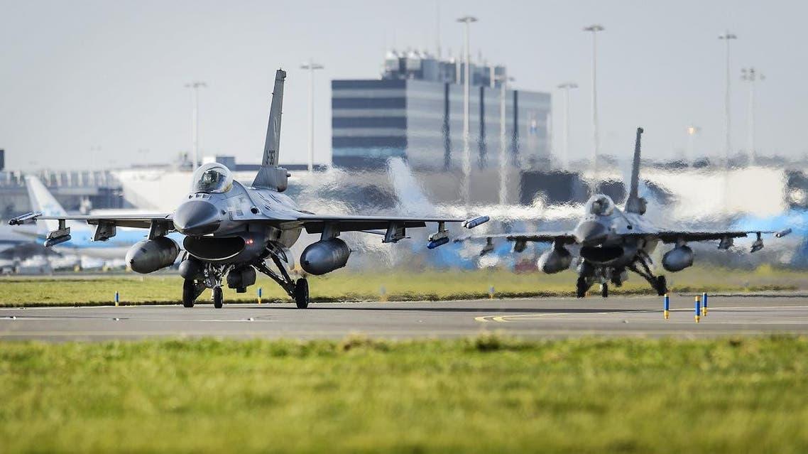 Dutch F16 (AFP)