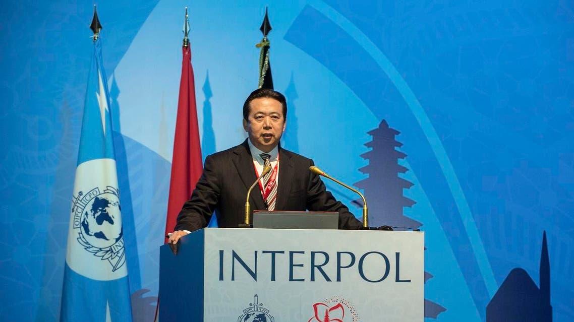 Interpol Meng Hongwei (AP)