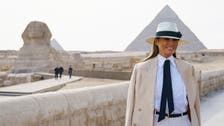 IN PICTURES: US First Lady in Cairo wrapping up Africa trip