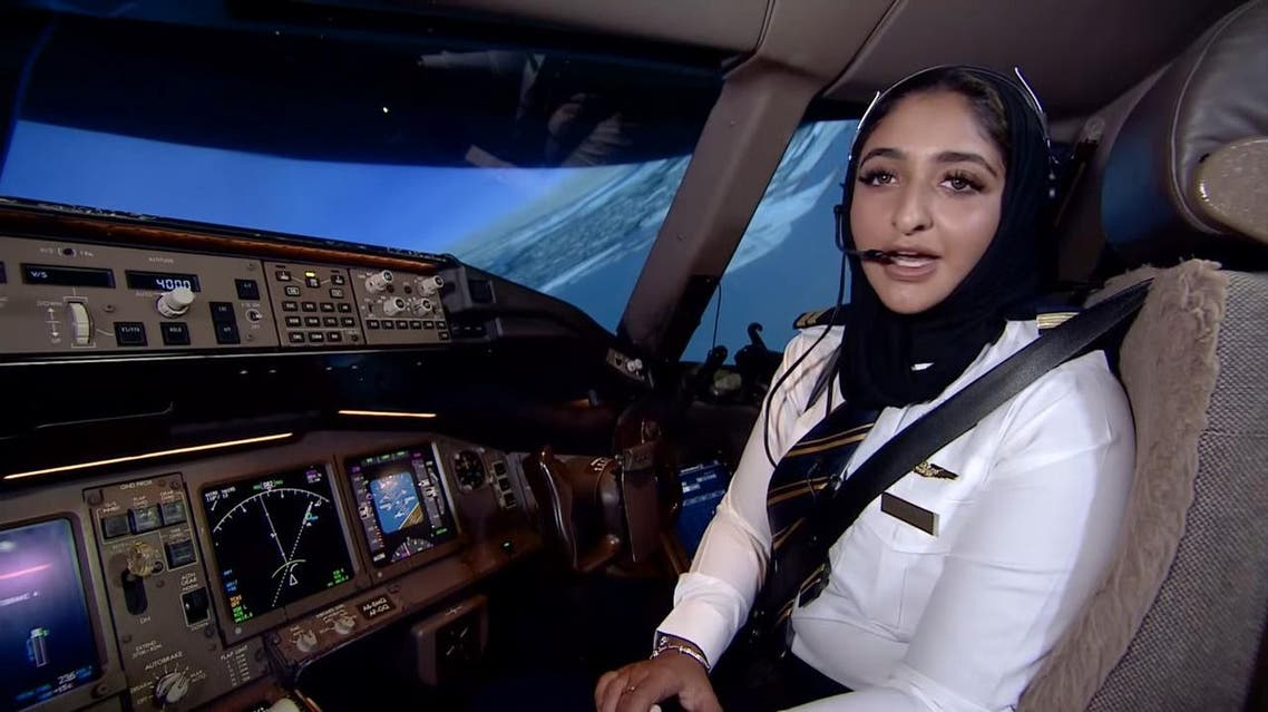 The airline recently posted a video, to mark the UAE's Civil Aviation Day, in which Shaikha Moza Al Maktoum explained why she made the decision to become a pilot.