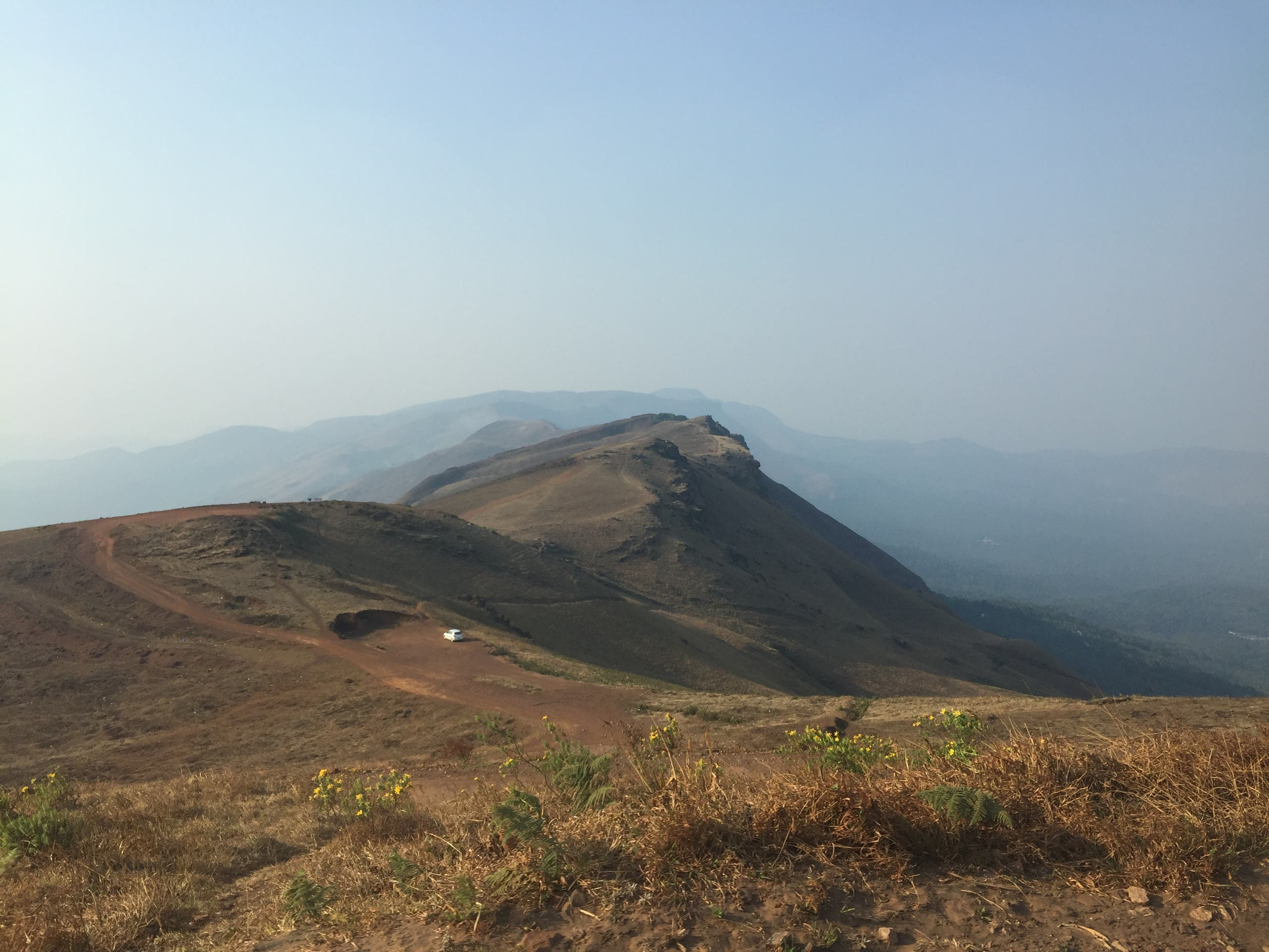 Bababudangiri Hills in Chickmagalur where coffee was first planted in India. (Supplied)