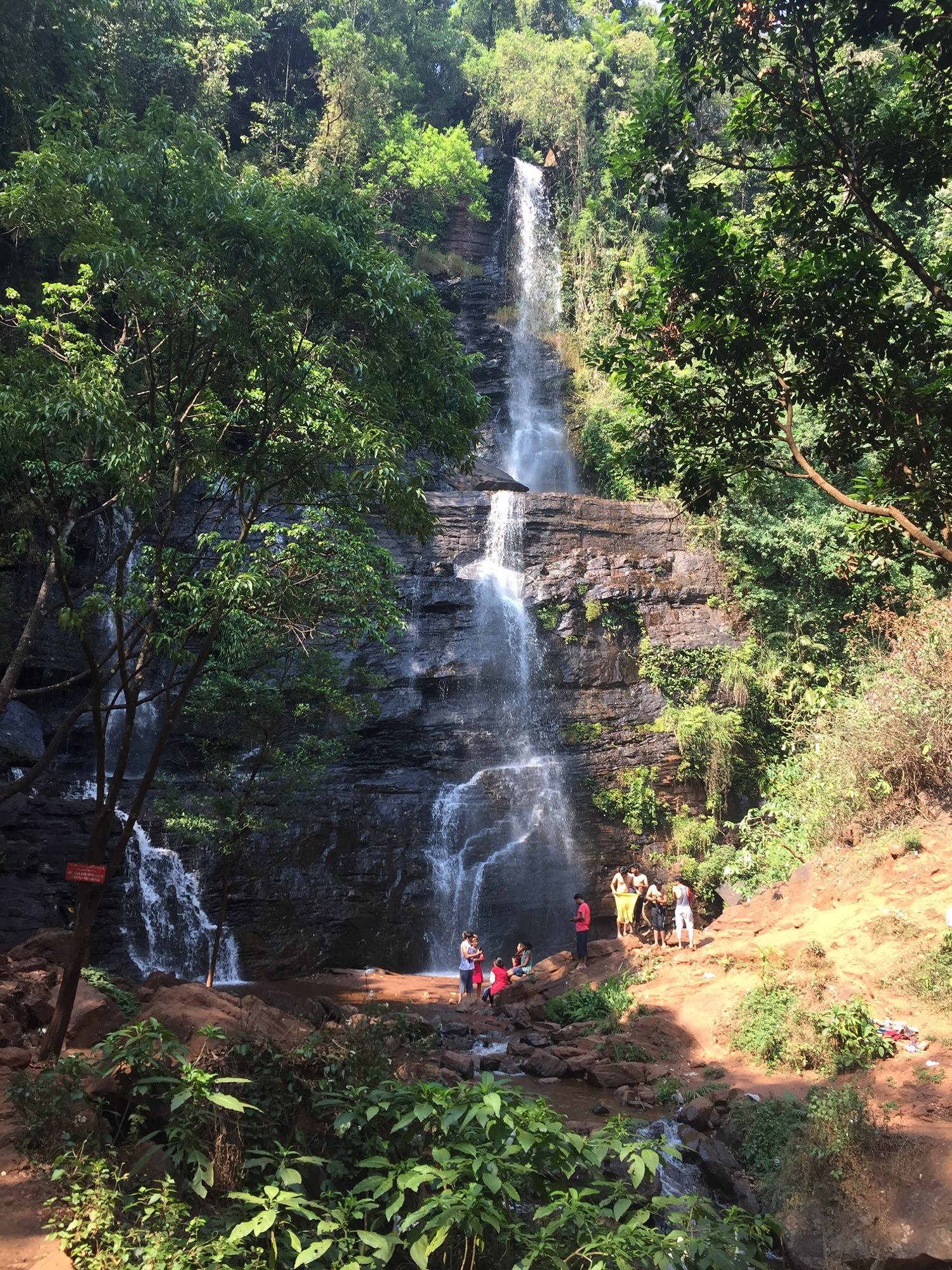 A fall amid coffee plantations in Chickmagalur. (Supplied)