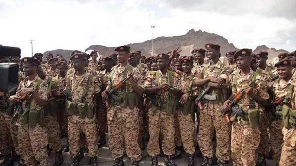 Sudanese unit Yemen (Supplied)