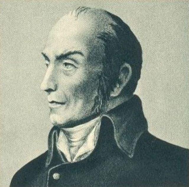 صورة للطباخ و المخترع الفرنسي نيكولا أبيرت