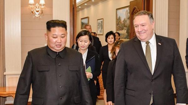 کِم جونگ اُن سے پیانگ یانگ میں ملاقات سابقہ سے اچھی رہی ہے :مائیک پومپیو