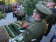 ليتوانيا.. جنازة متأخرة 60 عاما لبطل المقاومة ضد الروس