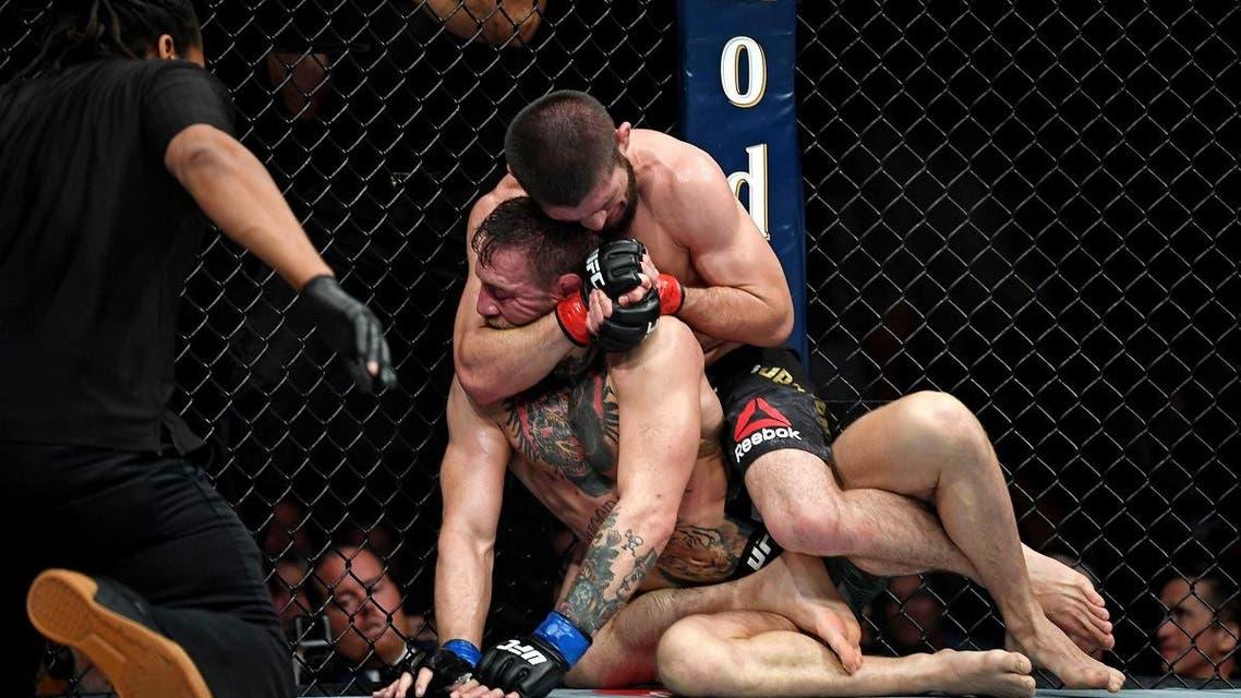 McGregor vs. Nurmagomedov. (Reuters)