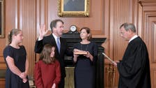 Brett Kavanaugh sworn in as Supreme Court justice after divided Senate vote