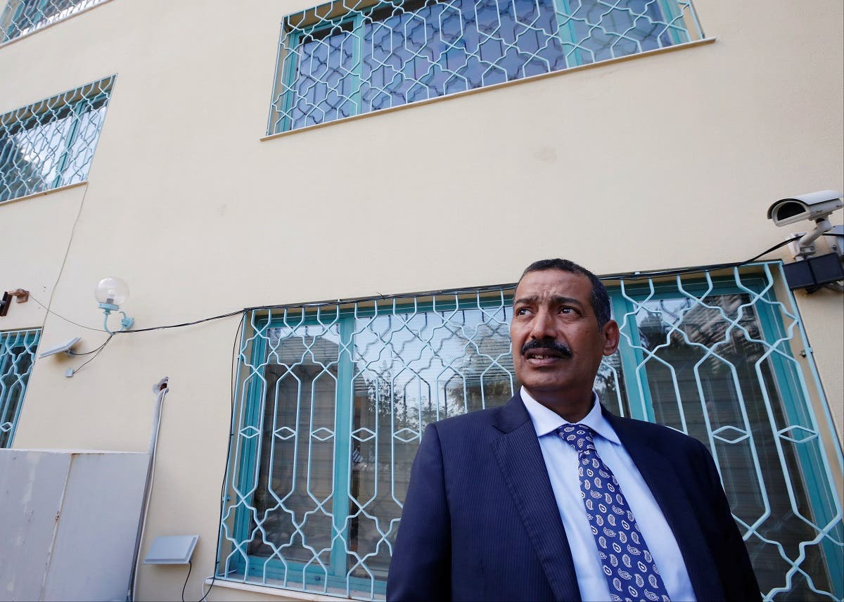 Consul General of Saudi Arabia Mohammad al-Otaibi gives a tour of Saudi Arabia's consulate in Istanbul. (Reuters)