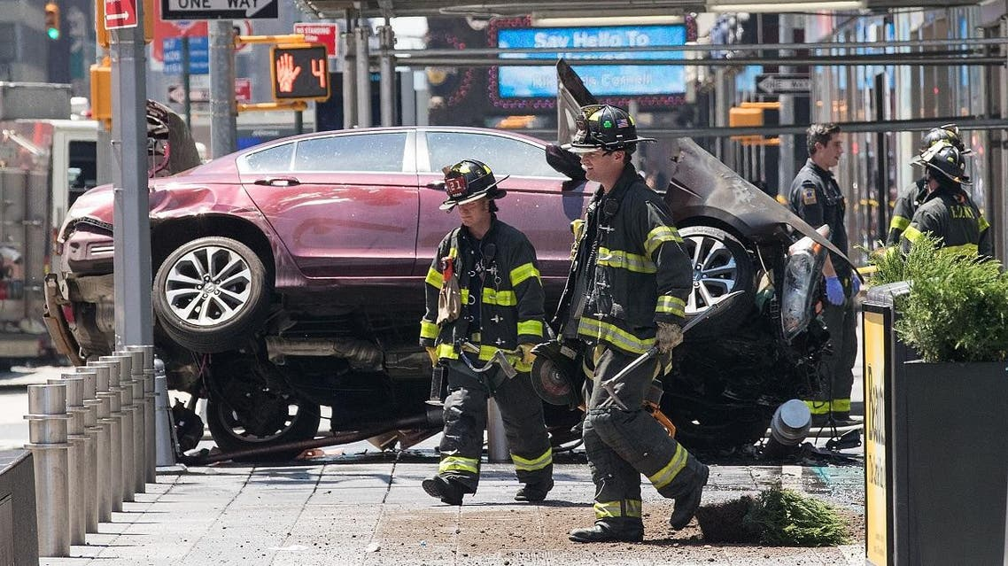 new york accident (AFP)