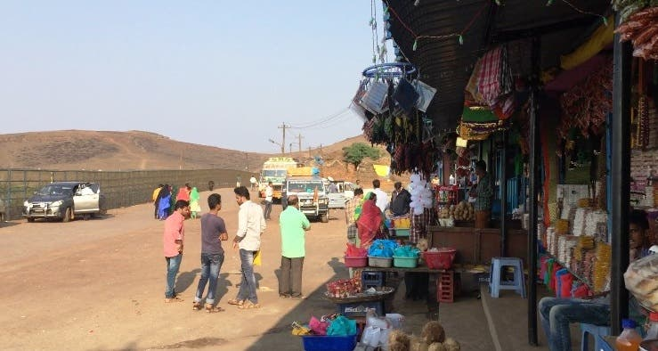 Stall owners are thankful to Arabia for the wonderful coffee. (Supplied)