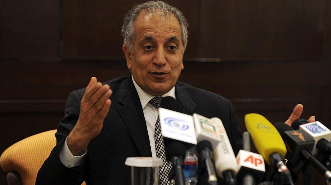 Zalmay khalilzad (AFP)