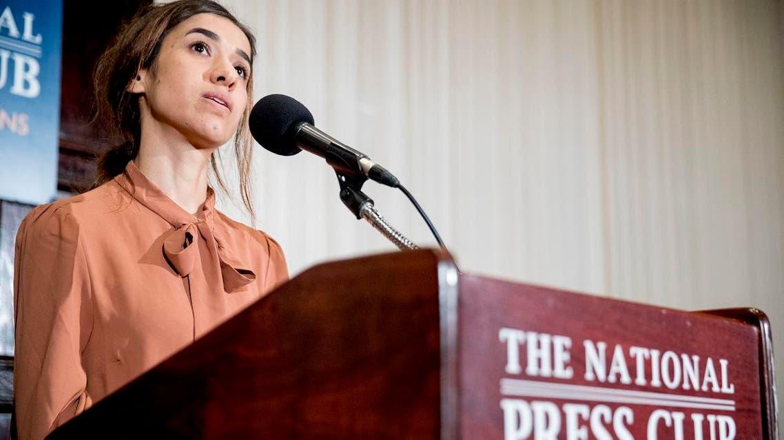 Nadia Murad. (AP)a