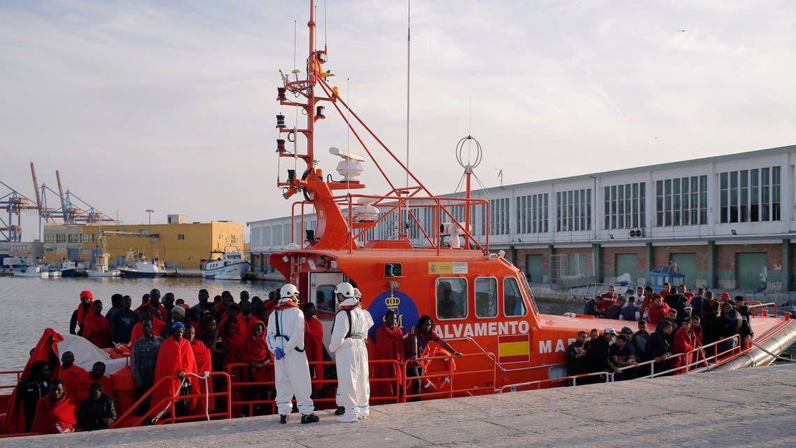 Migrants Spain مهاجرون إسبانيا
