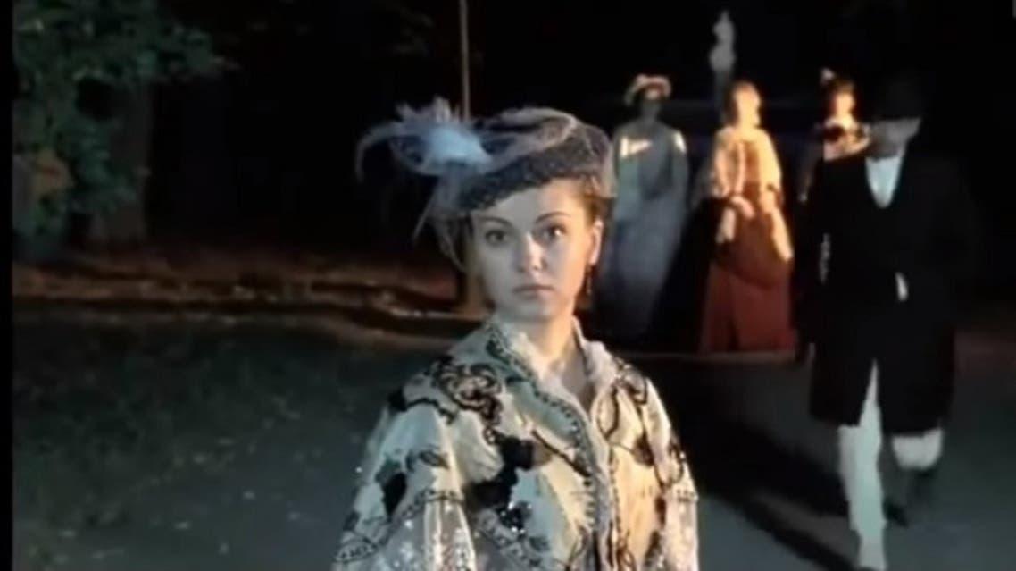 شخصية (آجلايا) برواية الأبله كما ظهرت في دراما روسية