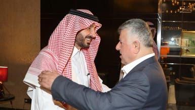 قصي الفواز يزور بعثة المنتخب العراقي