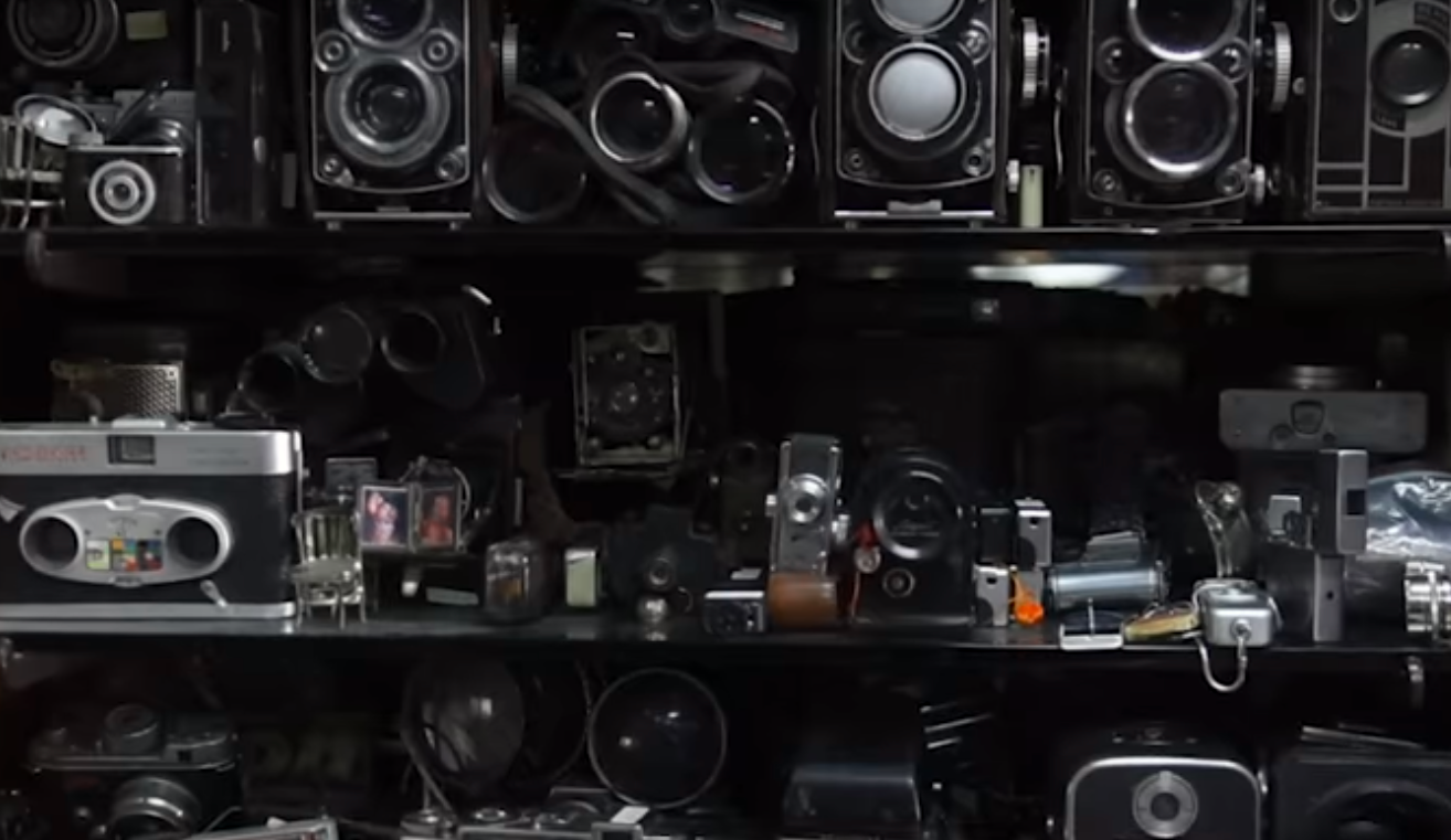 Parekh used to go to Mumbai's flea markets to buy cameras in the pre-internet days. (Screengrab)