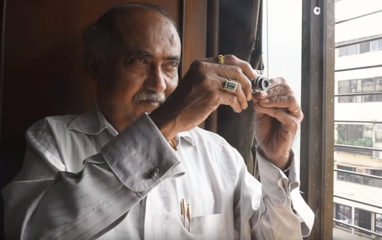 Mumbai-based Dilish Parekh is a jeweller by profession but has a passion for amassing vintage cameras. (Screengrab)