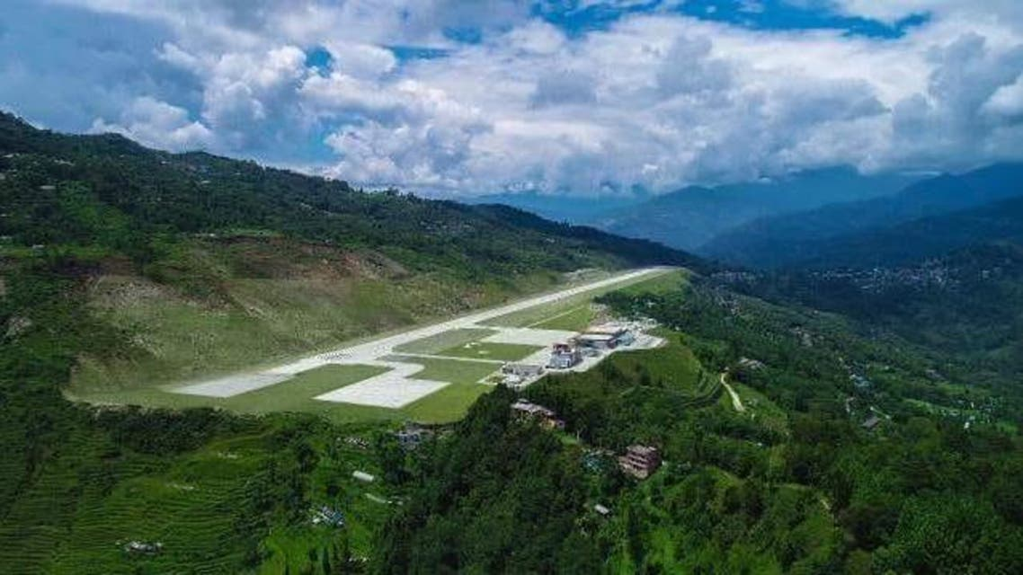 Perched on a hilltop sheathed in lush greenery the airport is 4,500 feet above sea level. (Supplied)