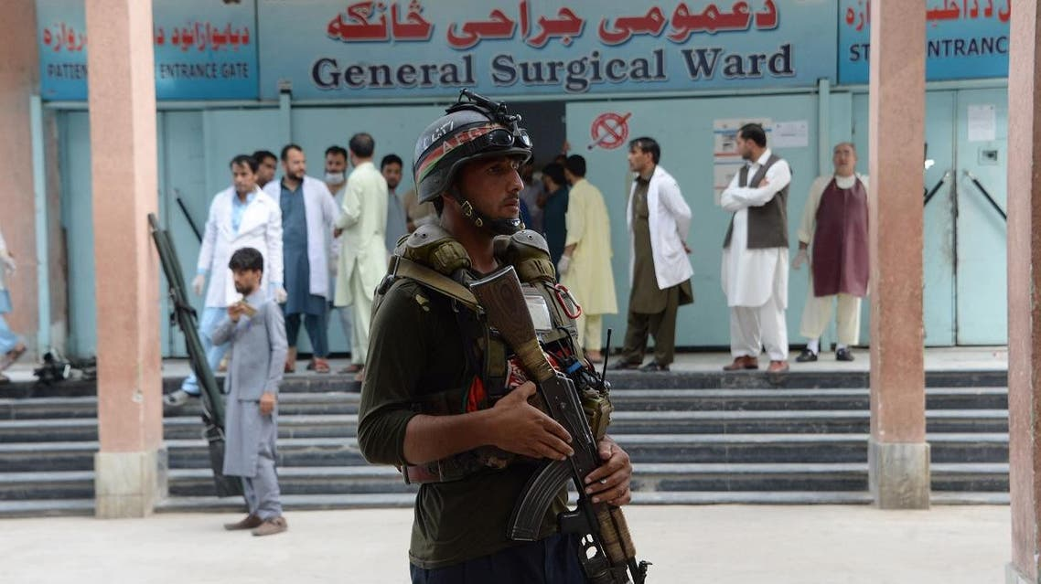 An Afghan policeman (AFP)