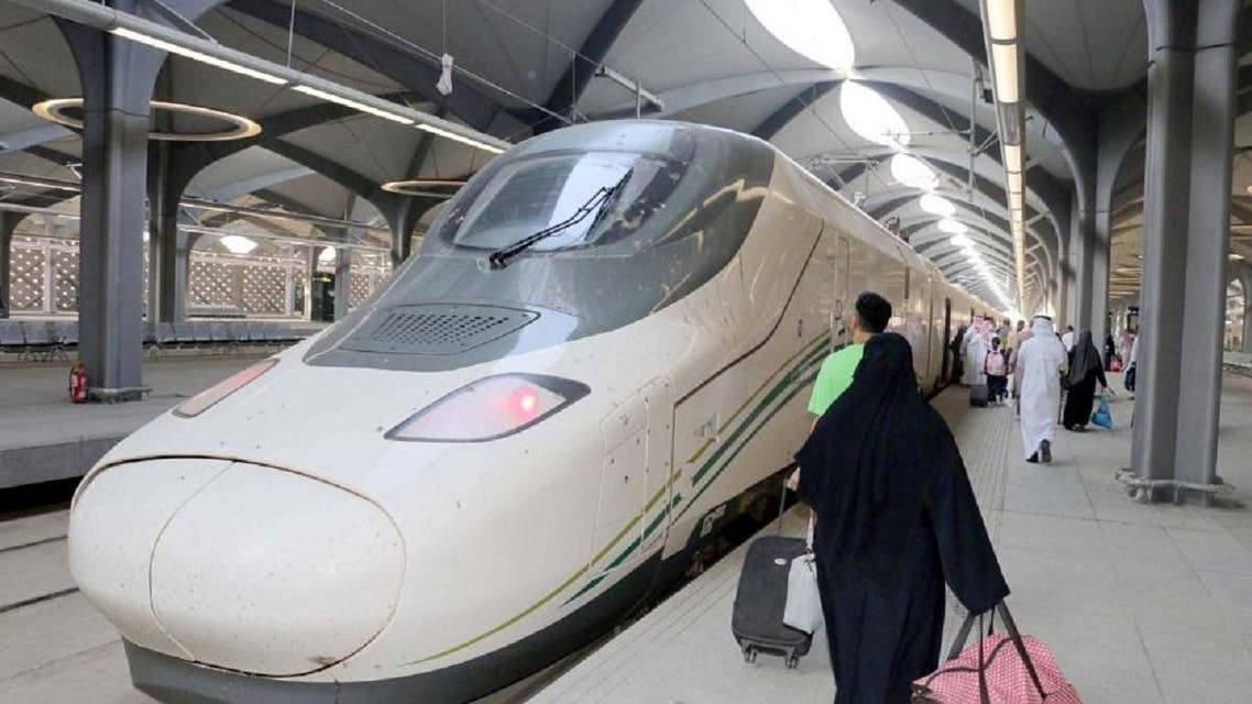 The Haramain high-speed train started its commercial operations on Thursday between Mecca and Medina. (SPA)