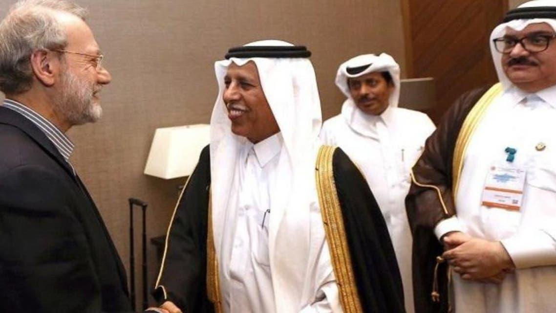 Qatar and Iran,