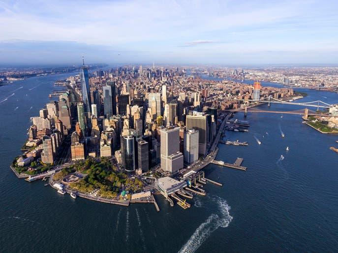 """أسعار عقارات """"مانهاتن"""" ليست بأفضل حال من وول ستريت"""