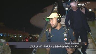 شاهد نجوم منتخب البرازيل يصلون الرياض..نيمار في المقدمة