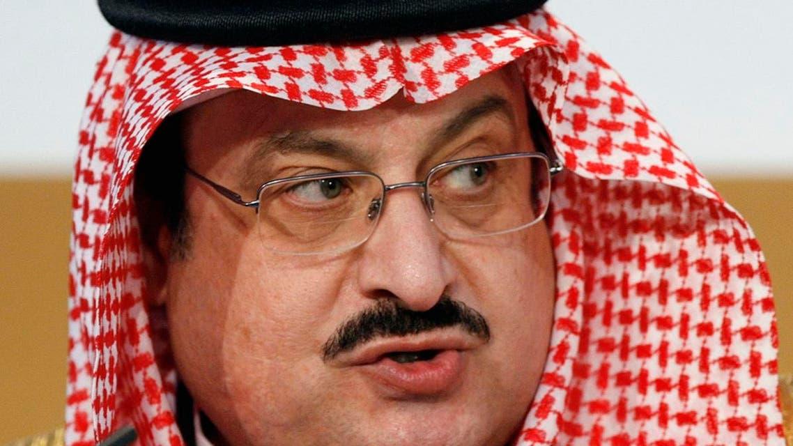 Mohammed bin Nawaf Saudi ambassador to UK. (AP)