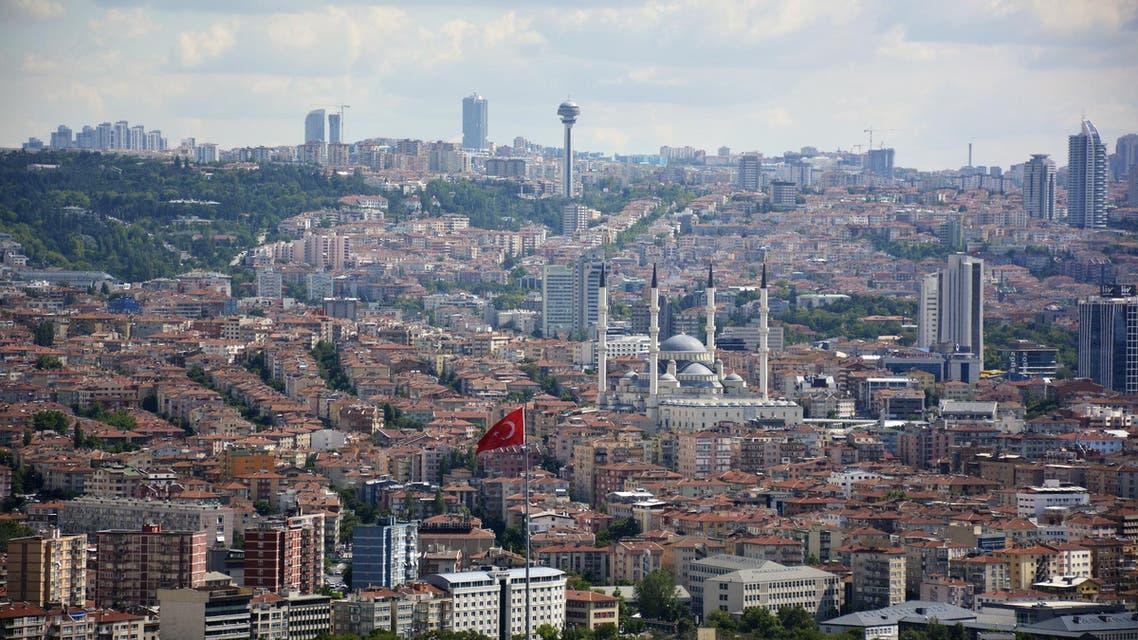 Ankara, capital city of turkey - Stock image