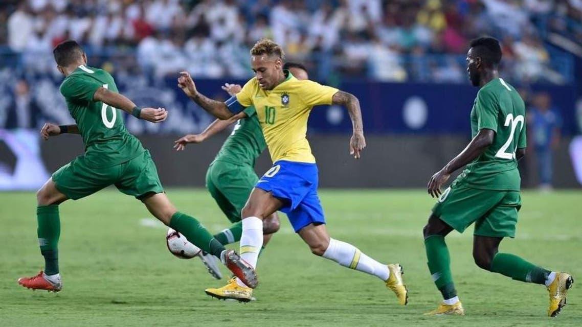 Neymar saudi