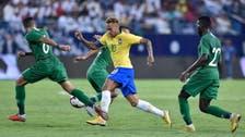 Brazil fail to sparkle in 2-0 win over Saudi Arabia