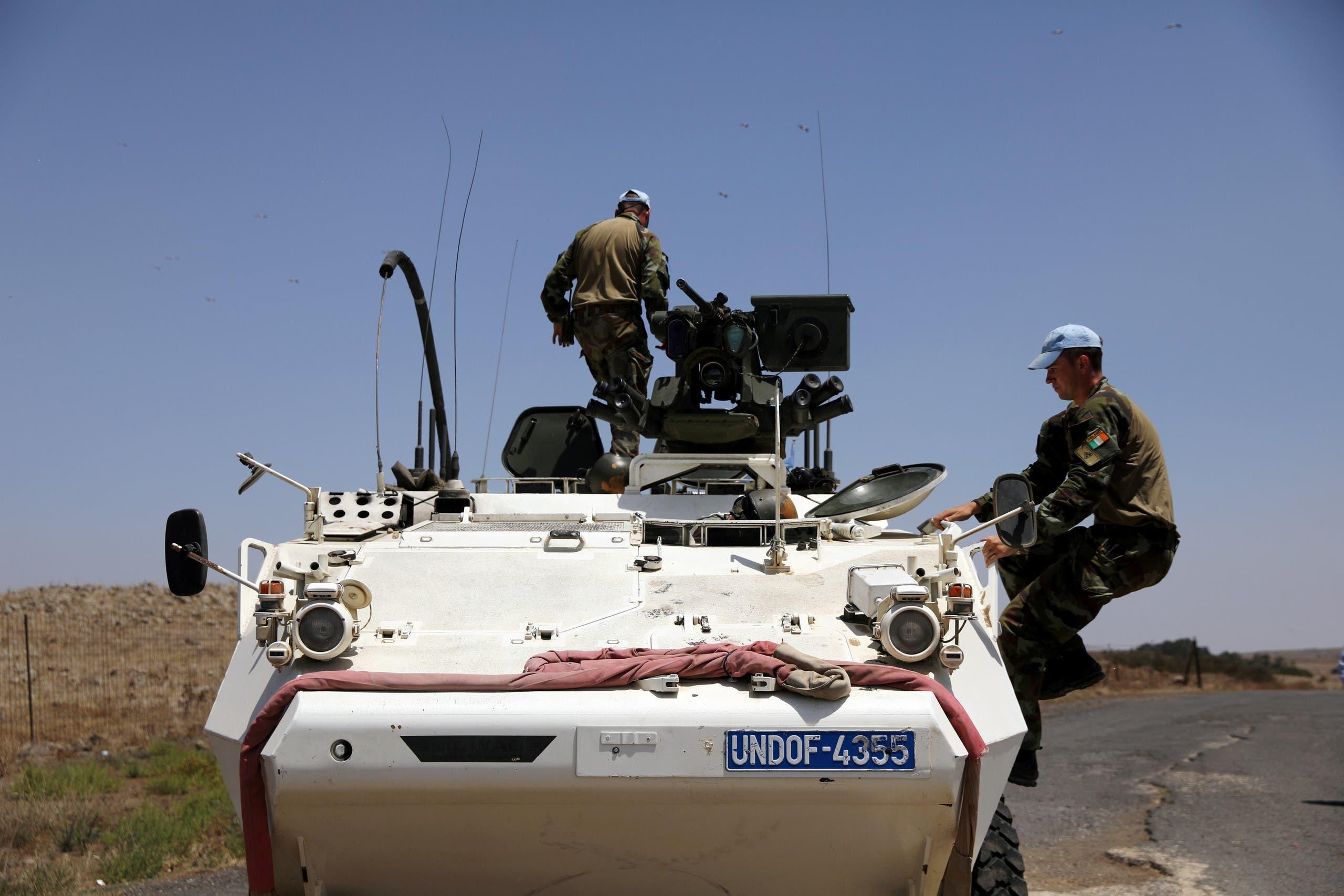 عناصر حفظ السلام بين إسرائيل وسوريا