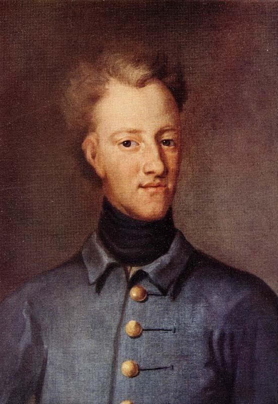 صورة لملك السويد شارل الثاني عشر